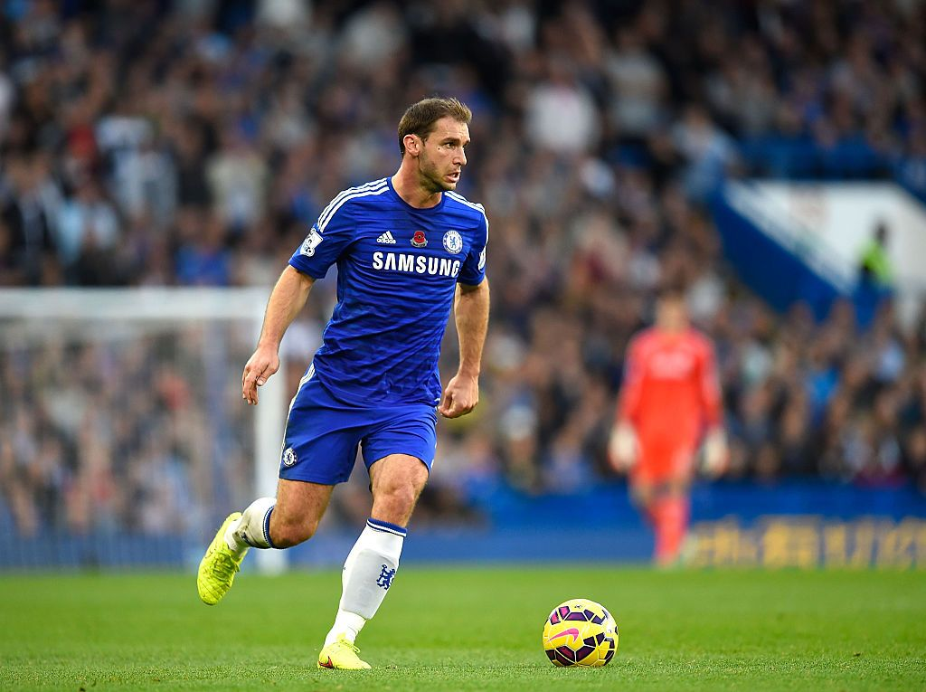 LONDON, ENGLAND - NOVEMBER 1: Branislav Ivanovic of Chelsea in action during the Barclays Premier League match between Chelsea and Queens Park Rangers at Stamford Bridge on November 1, 2014 in London, England. (Photo by Mike Hewitt/Getty Images)