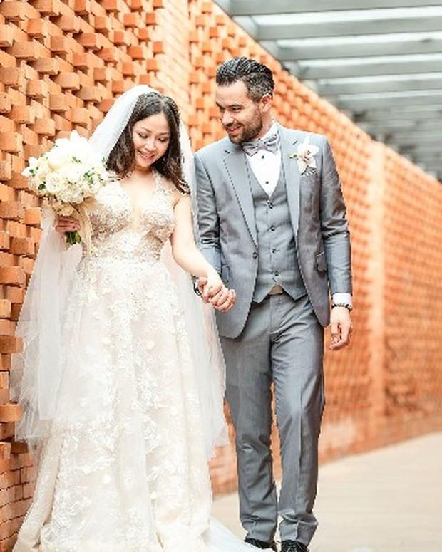 Potret pernikahan Chef Marinka.