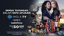 Mola TV App Hadir di IndiHome dengan Tayangan Liga Bergengsi