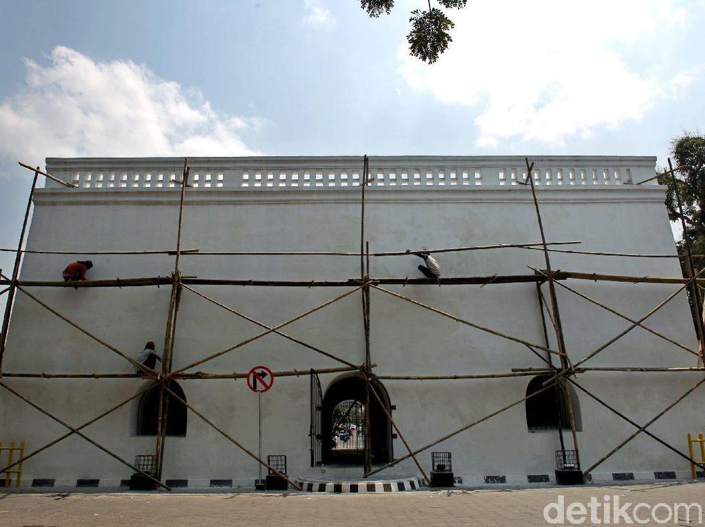 Intip Perawatan Panggung Krapyak, Bangunan Bersejarah di Yogyakarta