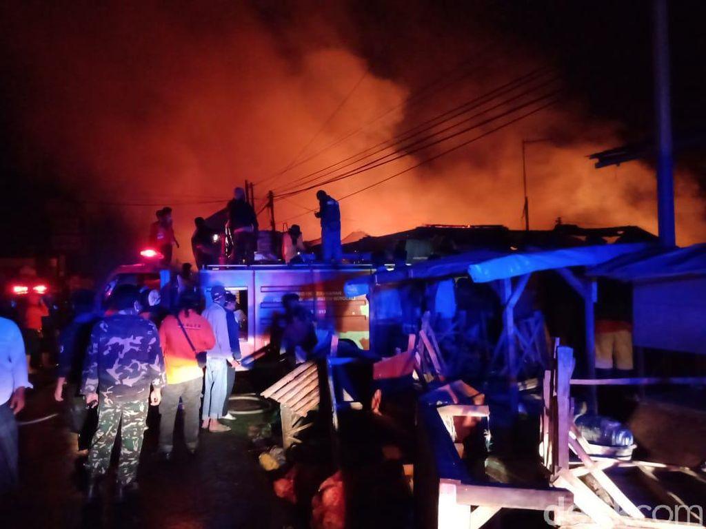 Kebakaran Pasar Cepogo Boyolali Berhasil Dipadamkan, Tak Ada Korban Jiwa