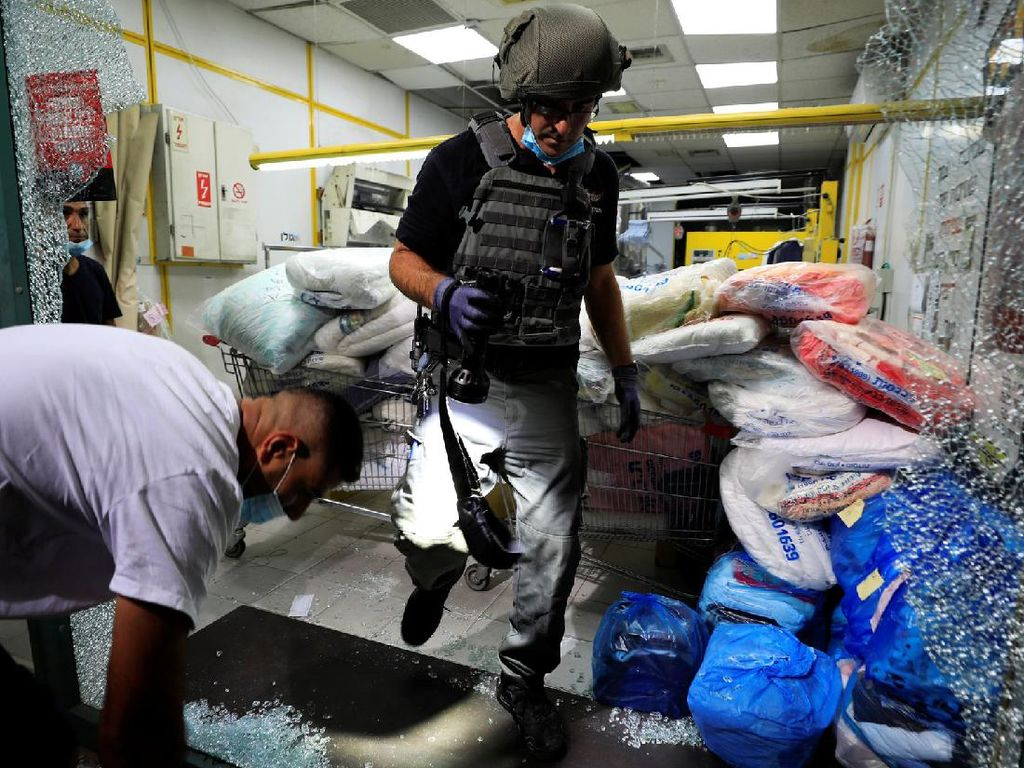 Kekerasan di Gaza Kembali Meletup Usai Kesepakatan Damai Israel-UEA-Bahrain