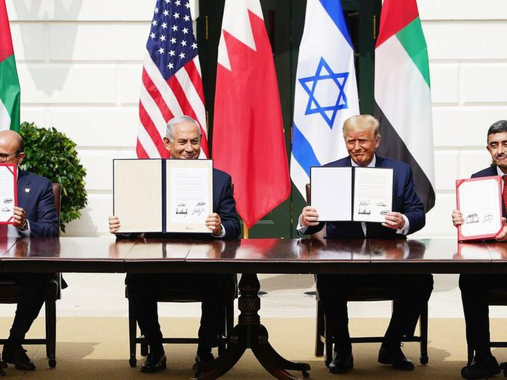 Normalisasi Hubungan Israel-UEA-Bahrain Jadi Pintu Masuk Bagi Indonesia