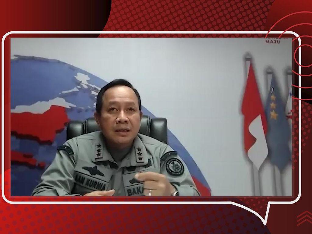 Siasat Bakamla Hadapi Taktik China di Natuna Utara