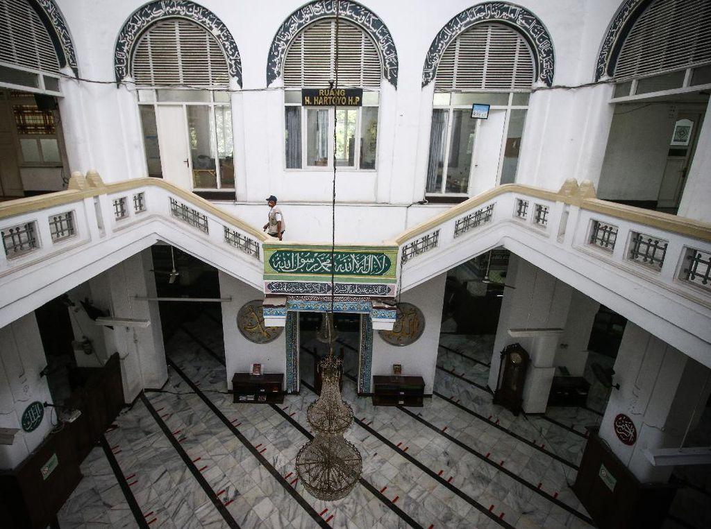 Masjid Bersejarah di Ibu Kota Tutup Imbas Jakarta PSBB Ketat