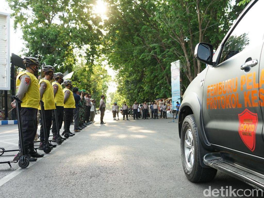 Mobile COVID Hunter Kota Probolinggo Siap Tindak Warga yang Abai Prokes