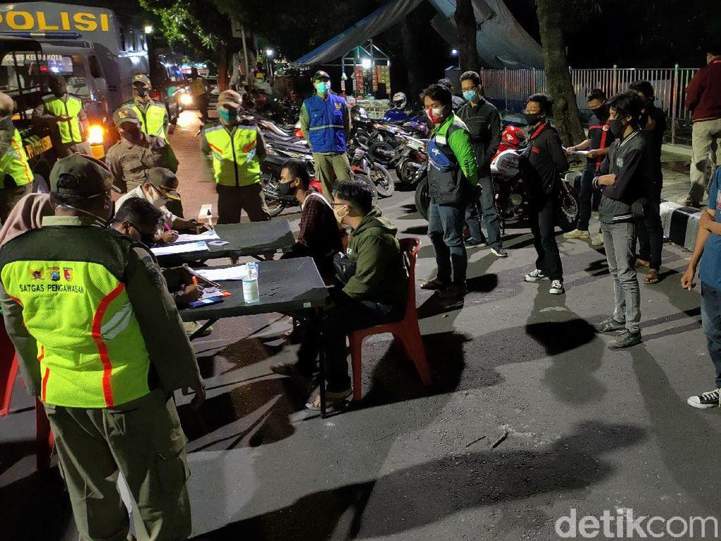 23 Pelanggar Protkes di Kota Kediri Terjaring Tim COVID Hunter