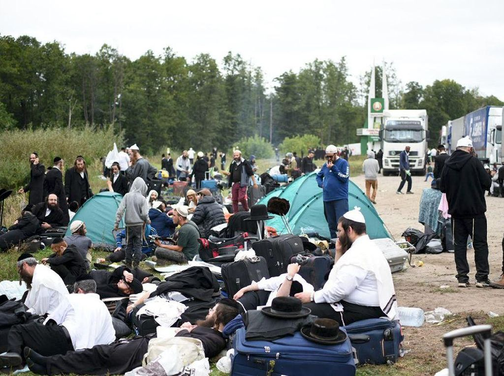 1.000 Peziarah Yahudi Ditolak Masuk Ukraina karena Khawatir Corona