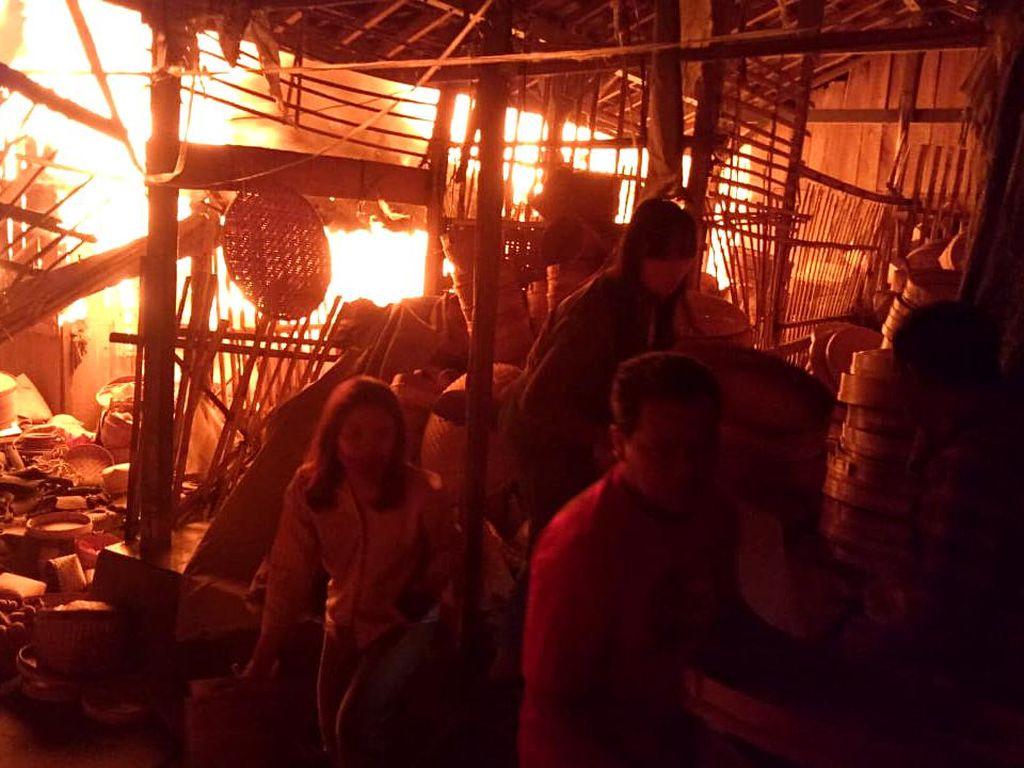 Potret Pasar Cepogo Boyolali Ludes Dilalap Api