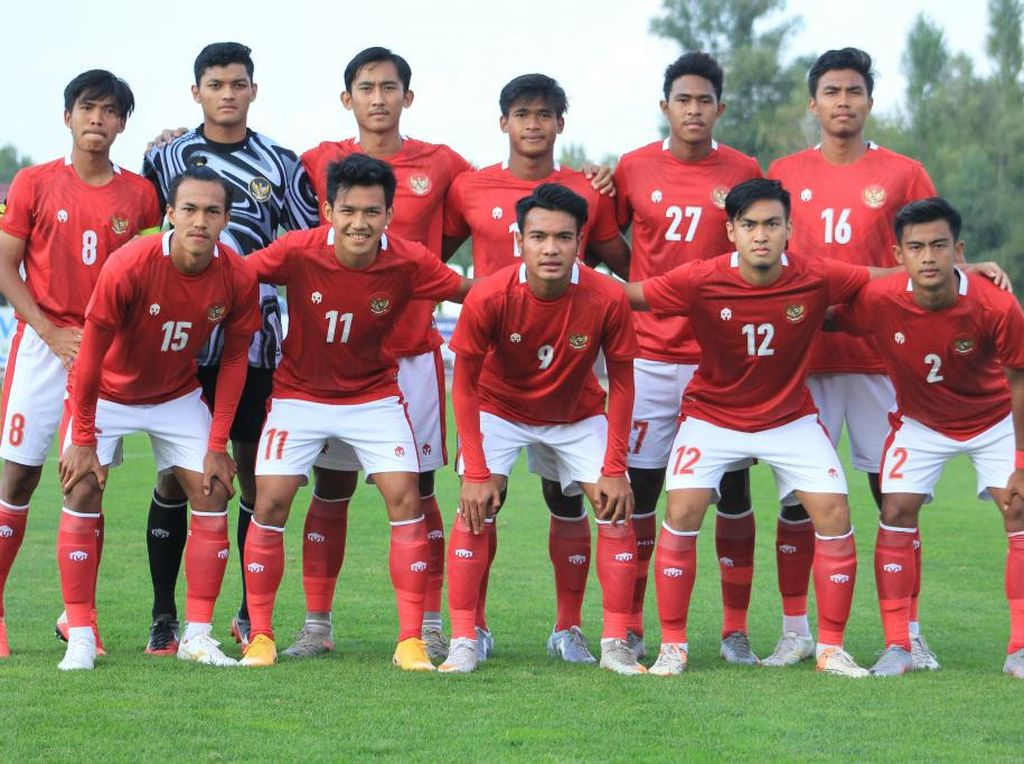 Link Live Streaming Timnas U-19 vs Makedonia Utara
