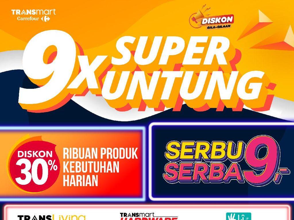 Emak-emak Serbu Promo 9X Super Untung, Anti Buntung!