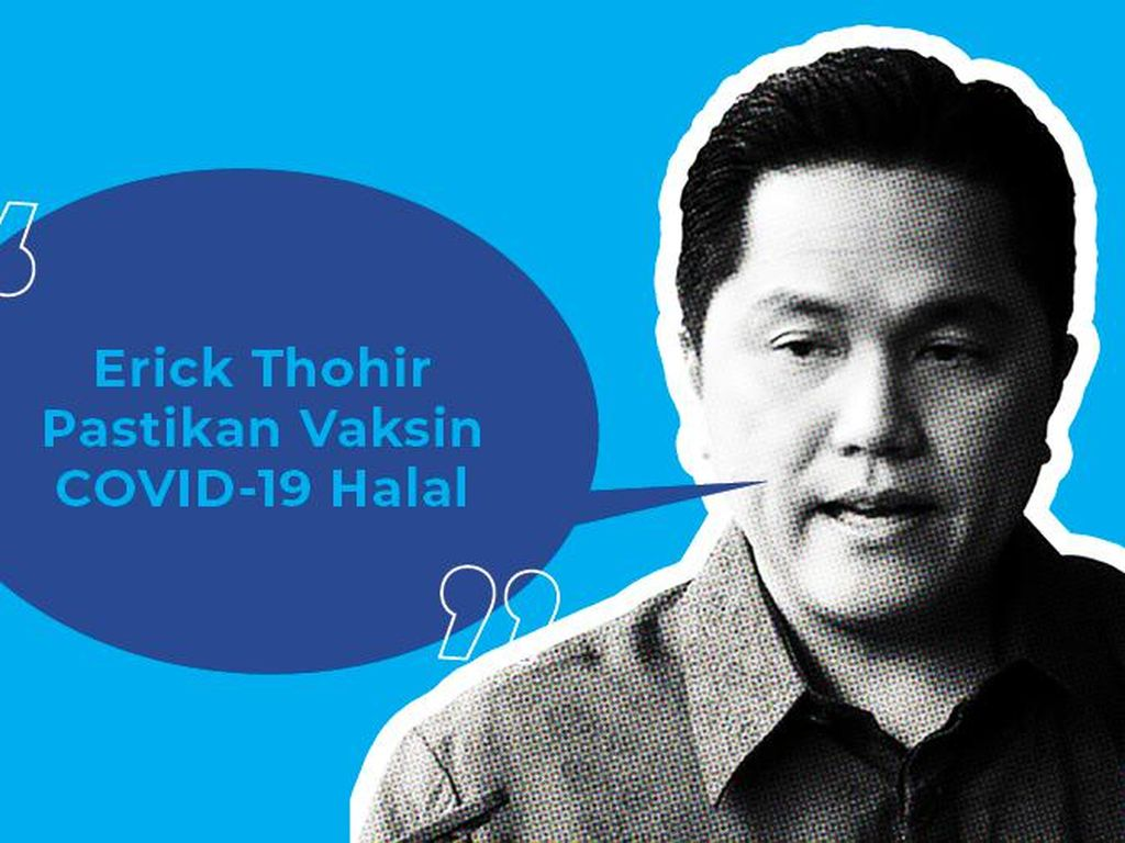 Erick Mau Kirim MUI ke China, Pastikan Vaksin Corona Halal!