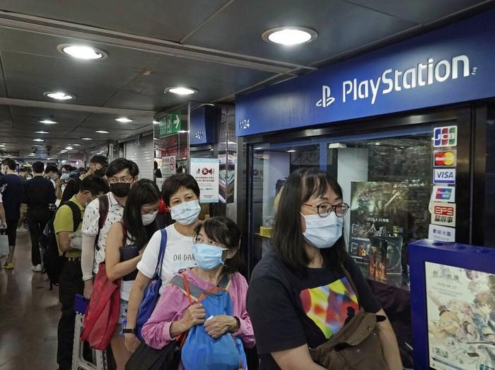 Situasi Pre-order PS5 di Hong Kong