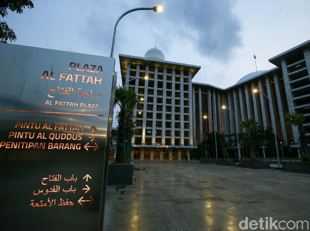 Melihat Wajah Baru Masjid Istiqlal Usai Direnovasi
