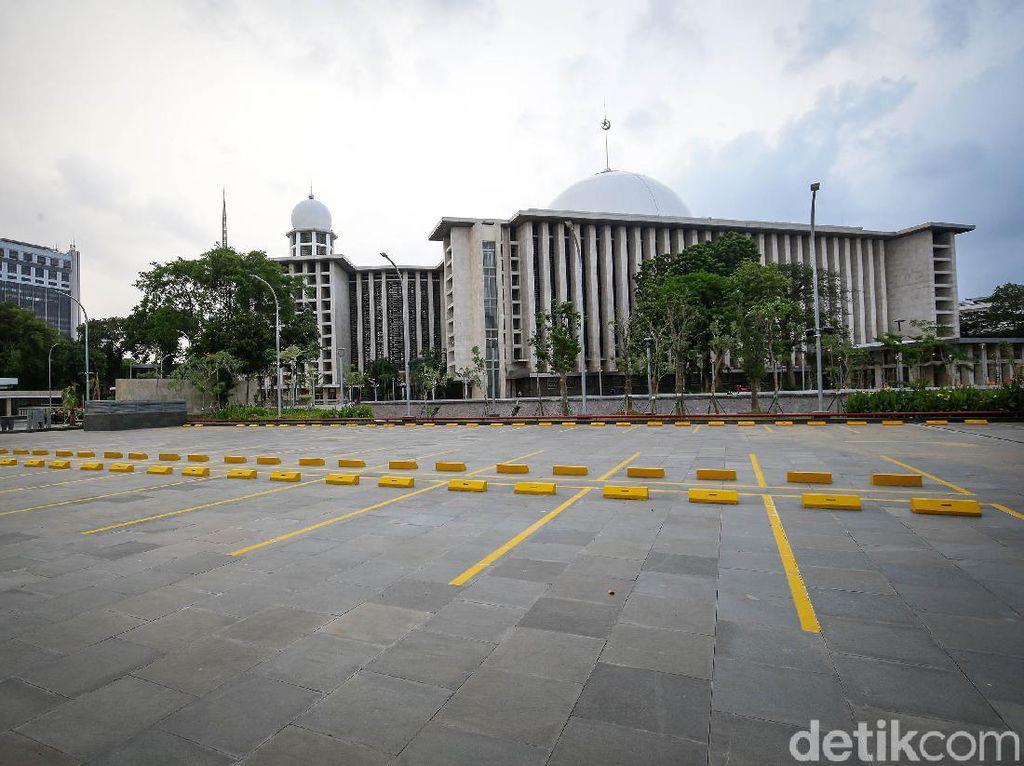 Progres Renovasi Masjid Istiqlal Sudah 80%