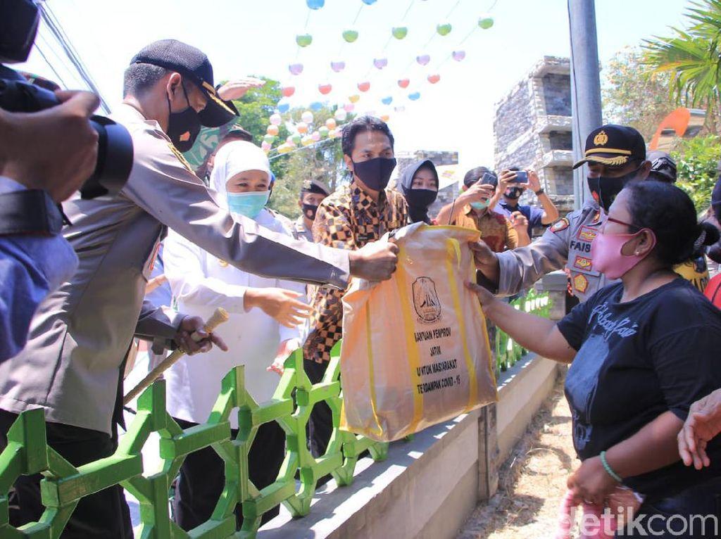 Cegah COVID-19 di Madiun, Gubernur Khofifah Launching Tim Nadirotan