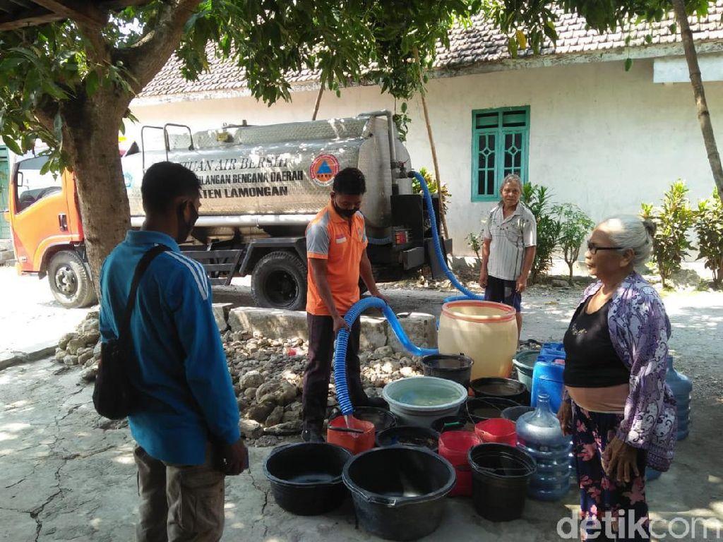 8 Kecamatan di Lamongan Terdampak Kekeringan Akibat Kemarau