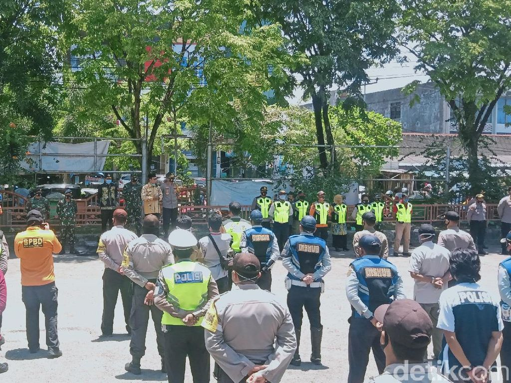 Viral Warga di Banjarmasin Kena Denda Gegara Lepas Masker saat Meludah