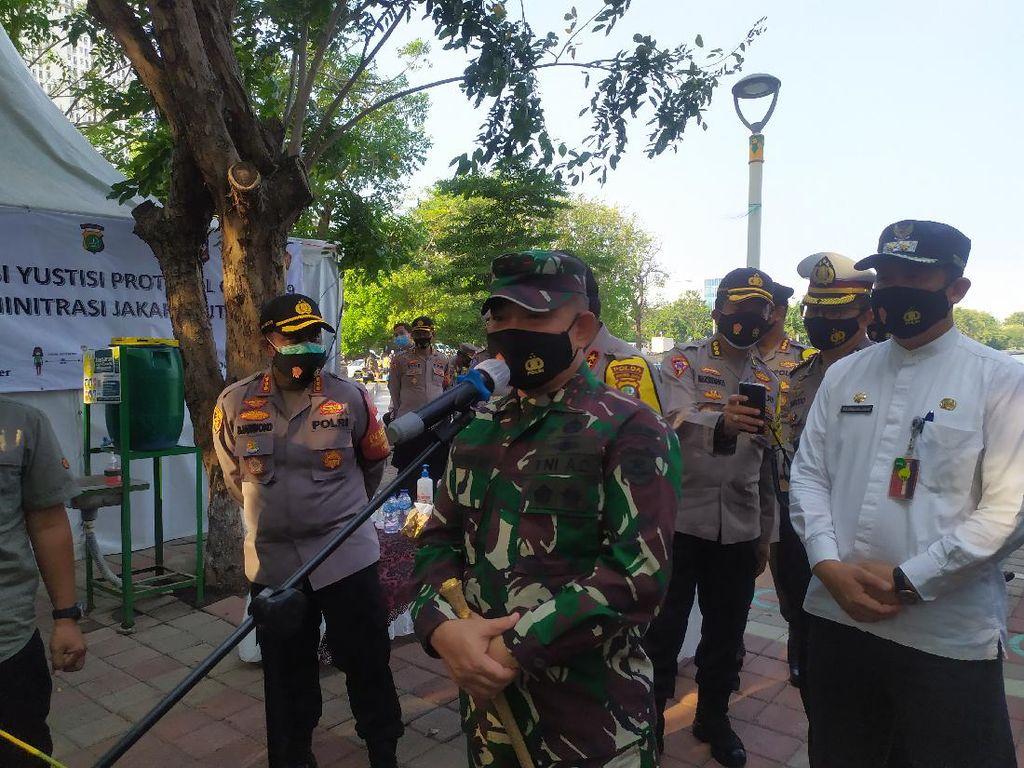 Pelanggar Protokol COVID di Jakut Turun, Pangdam Jaya: Kesadaran Warga Membaik