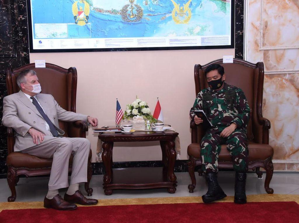 Panglima TNI Terima Kunjungan Pejabat Kementerian Pertahanan AS