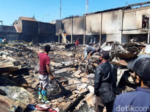 Jejak Keganasan Api di Pasar Cepogo Boyolali, 600 Los Pedagang Ludes