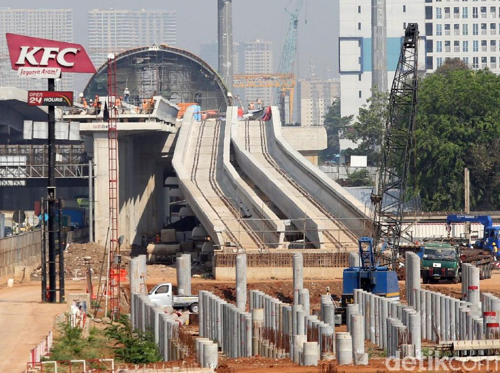 KAI Dapat Pinjaman Rp 4,2 T Rampungkan Proyek Depo dan Stasiun LRT