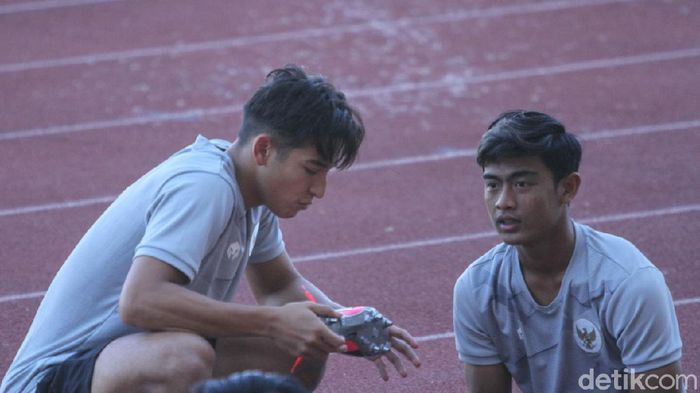 Pemain Timnas Indonesia U-19, Pratama Arhan.