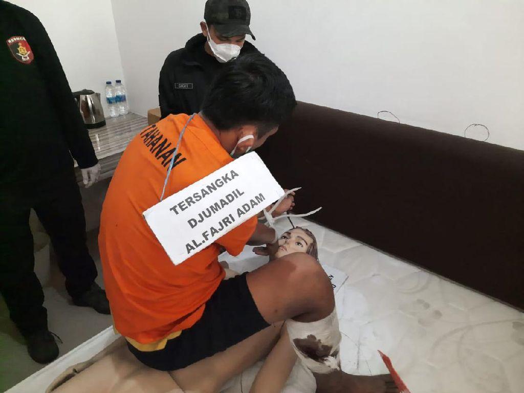 Polisi Soroti Ketenangan Fajri Si Pemutilasi Rinaldi