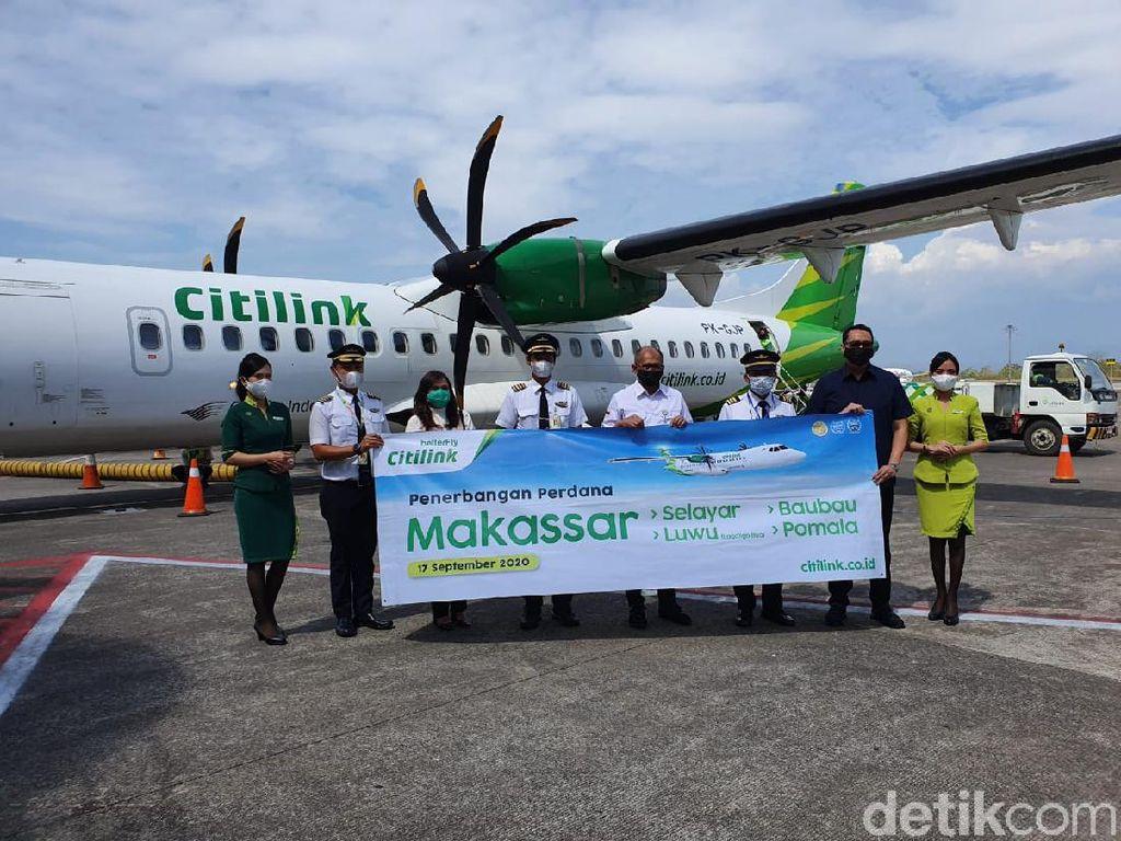 Citilink Buka 4 Rute Baru dari Makassar, Salah Satunya ke Selayar