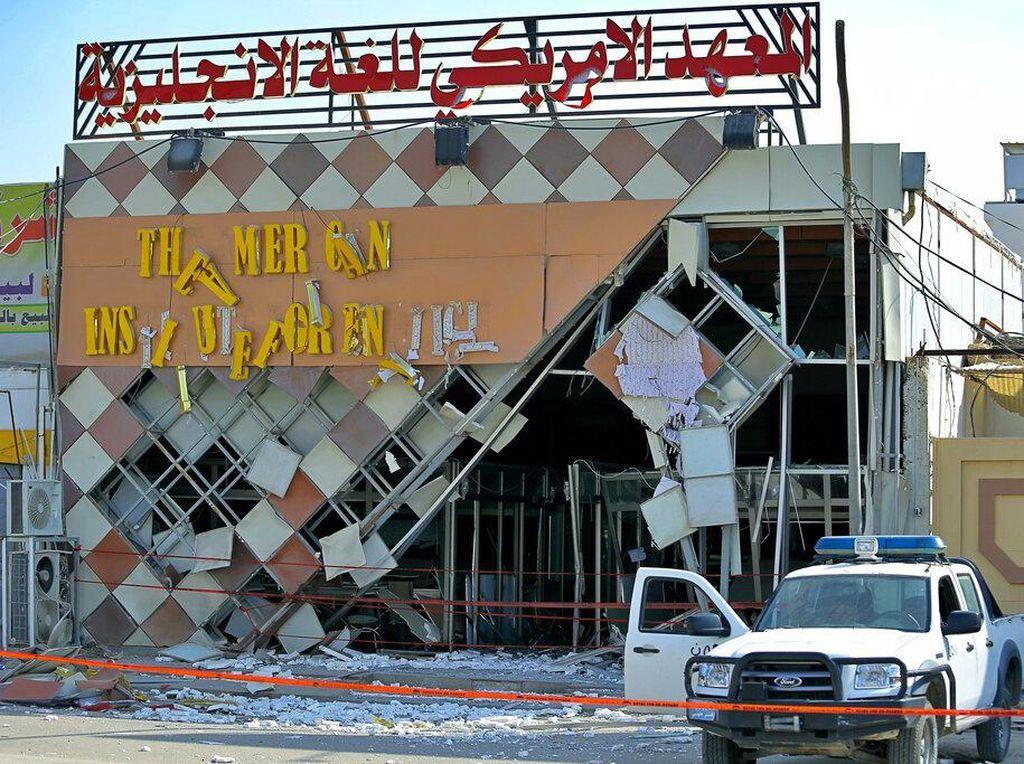 Sekolah Bahasa Inggris Jadi Korban Ledakan di Irak