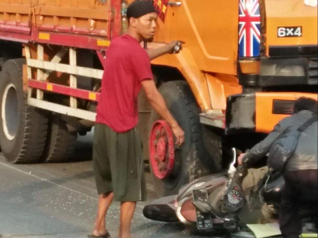 Satu Korban Tabrakan Beruntun di Sukabumi Meninggal