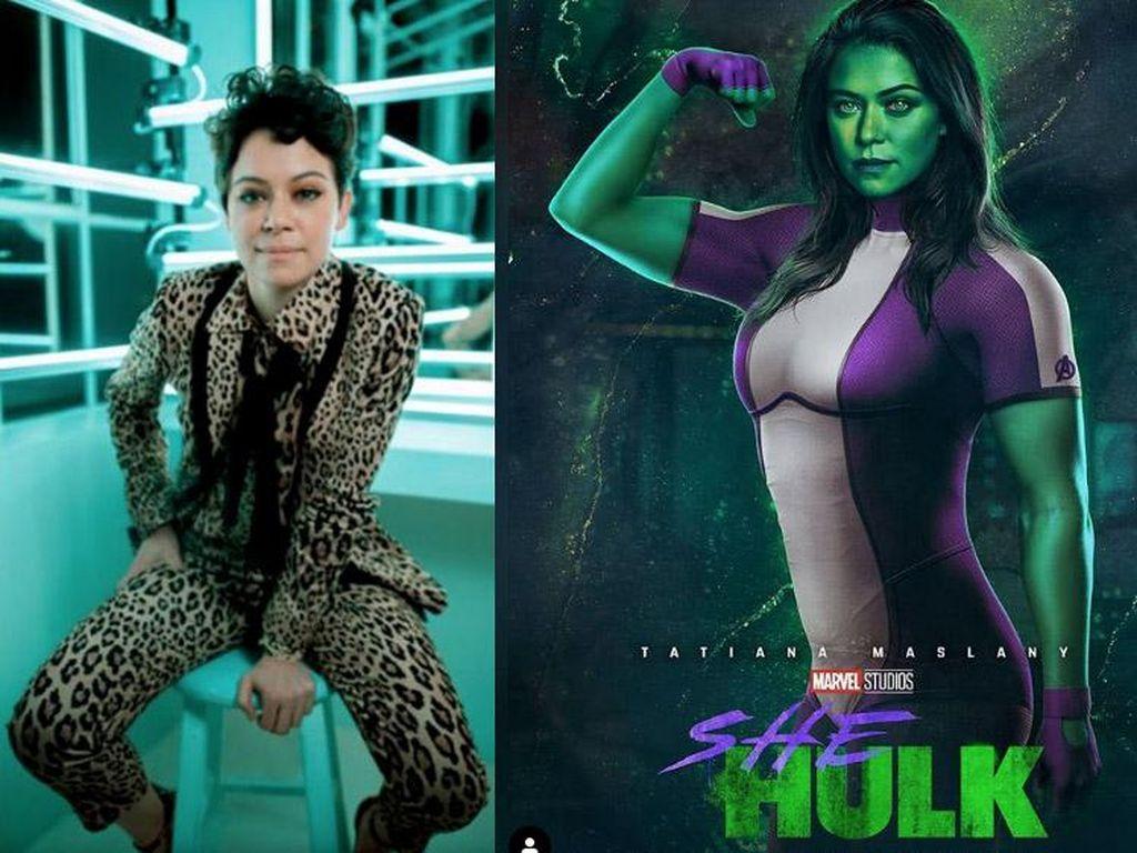 Peraih Emmy Awards, Tatiana Maslany Bintangi She-Hulk