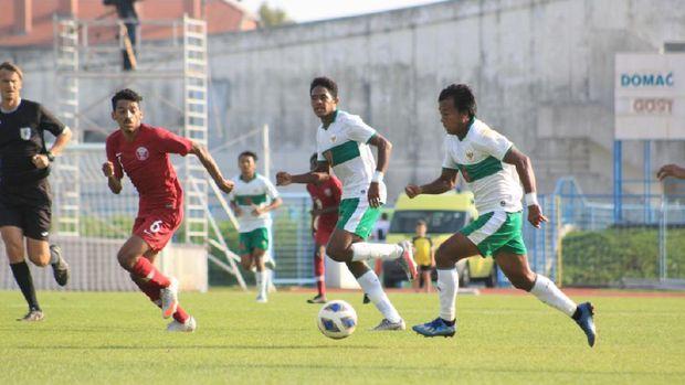 Mochammad Supriadi di Timnas Indonesia U-19 vs Qatar (Dok. PSSI)