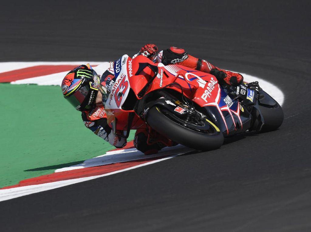 MotoGP Emilia Romagna: Bagnaia Alami Crash di 7 Lap Tersisa