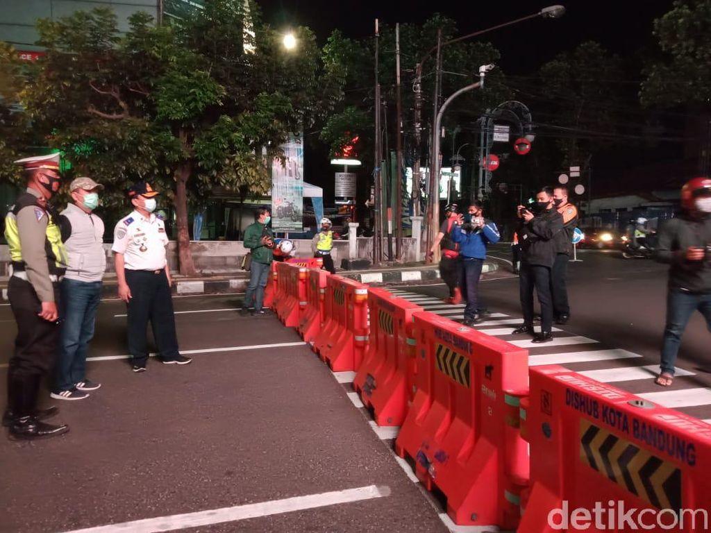 Banyak Kerumunan, Jalan Dipatiukur Bandung Direncanakan Dibuka Tutup