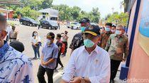 Menko PMK Cek Penggunaan Bantuan PCR di Kabupaten Kediri