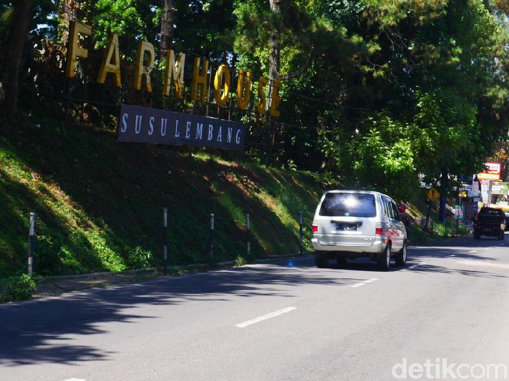 Objek Wisata di Lembang Sepi Imbas PSBB Jakarta