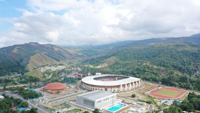 Penampakan Megahnya Istora Papua
