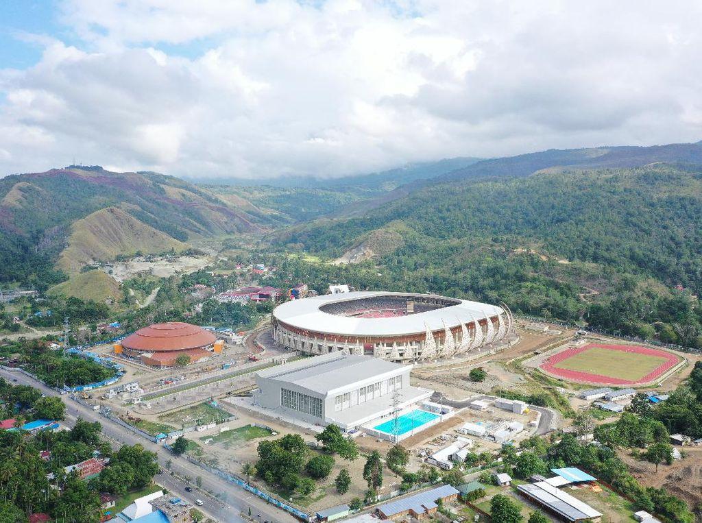 Peresmian Venue PON XX Batal Sajikan Persipura Vs PON Papua