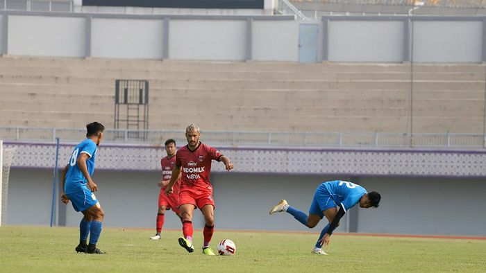 Persita Vs Bhayangkara FC di laga uji coba, Sabtu (19/9/2020).