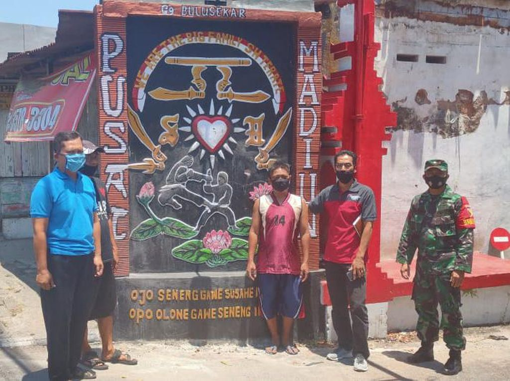Aksi Perusakan Tugu Pesilat Kembali Terjadi di Kota Madiun
