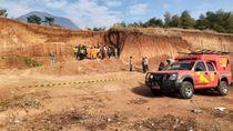 Mayat Pria Ditemukan Tertimbun Longsoran Bekas Tambang Pasir di Bandung