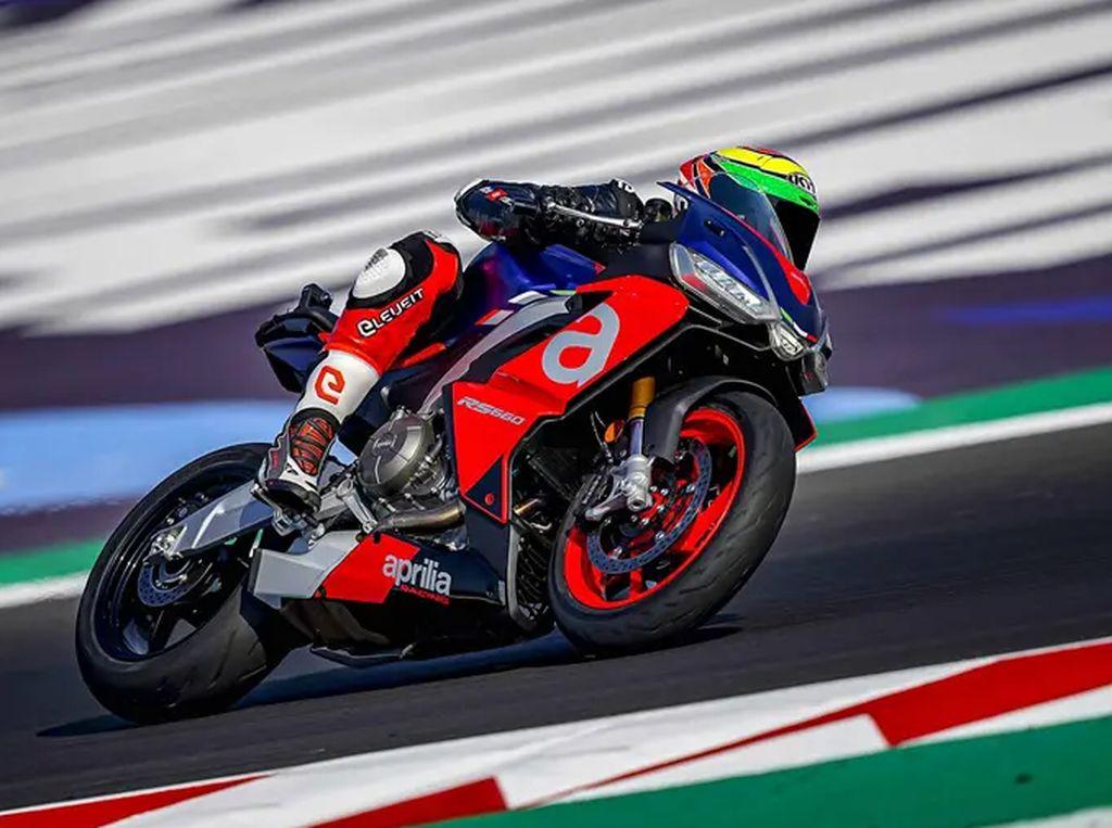 Makin Serius, Aprilia RS660 Mulai Diuji di Sirkuit MotoGP