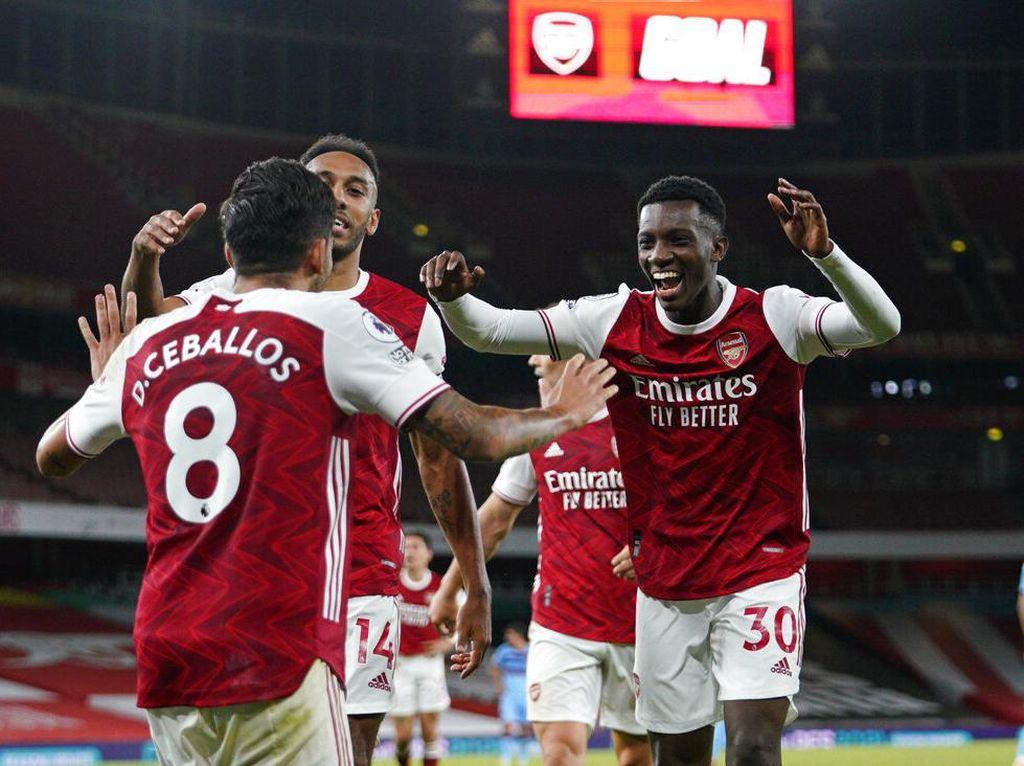 25 Menit yang Krusial untuk Kemenangan Arsenal