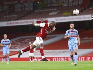 Turun Minum, Arsenal vs West Ham 1-1
