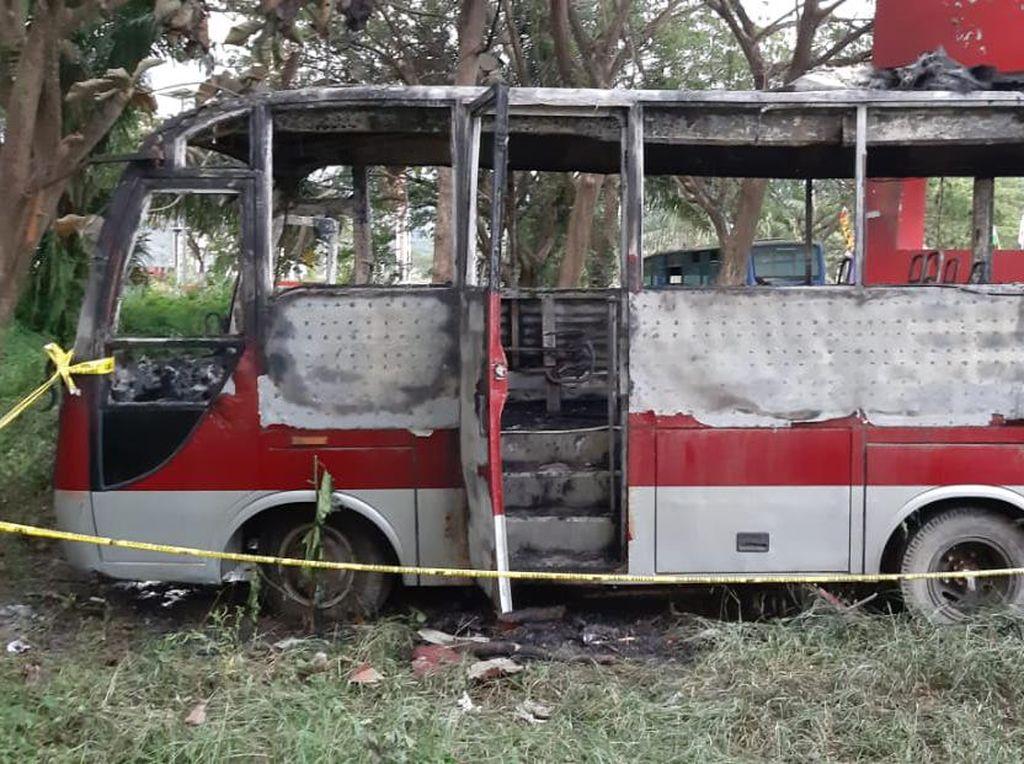 Bakar Bus Kantor Bupati di Sulbar, 3 Anak di Bawah Umur Diamankan Polisi