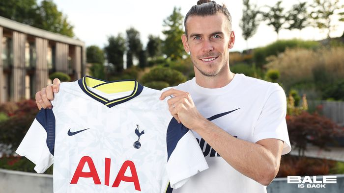 Gareth Bale resmi diperkenalkan sebagai pemain baru Tottenham Hotspur, Minggu (20/9/2020) dini hari WIB.