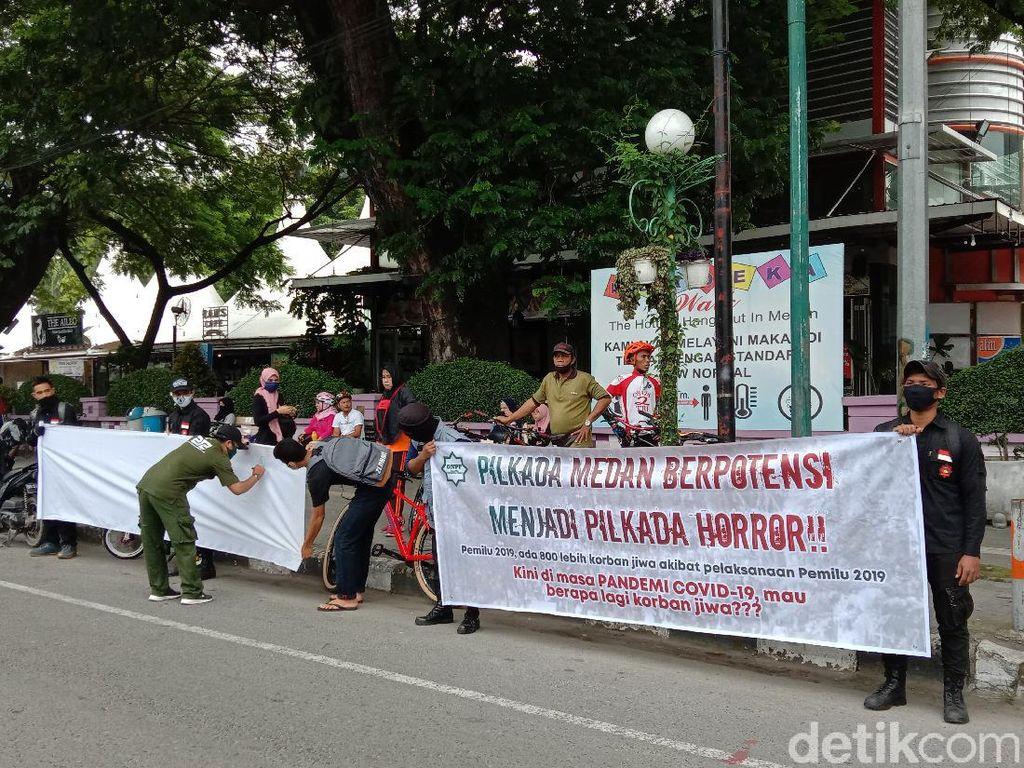 Usai Gugat KPU-Bawaslu, GNPF-U Sumut Galang Petisi Minta Pilkada Medan Ditunda