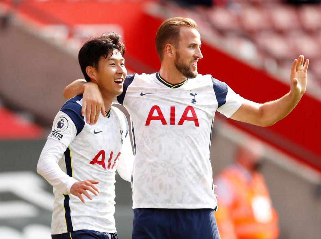 Harry Kane Empat Assist, Son Heung-min Empat Gol