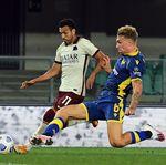 Liga Italia: AS Roma Ditahan Imbang Verona Tanpa Gol